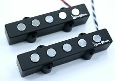 Bassmods Chrome Poles Big Phatty RE5 5 string Jazz style Bass pickups Made in US