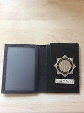 Enforcement Officer ID Card Wallet With Enforcement Braille Bar