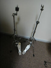 ludwig jr. hi hat cymbal stand, straight cymbal stand, and bass drum pedal, new