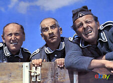 PHOTO  LA GRANDE VADROUILLE - BOURVIL, LOUIS DE FUNÈS, TERRY THOMAS - 11X15 CM