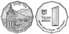 ISRAELE/ISRAEL 1 SHEQEL 1984 (VALLEY OF KIDRON) ARGENTO/SILVER PROOF #973A
