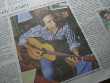 CLAUDE 'CURLY' PUTMAN. Times Obituary.Songwriter.Green Green Grass of Home.