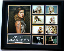 New Kelly Clarkson Signed Limited Edition Memorabilia