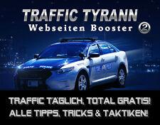 Traffic Tyrann 2 - Webseiten-Booster - PLR/Reseller-Lizenz