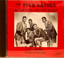 THE FIVE SATINS 'In The Still of The Night' feat Fred Paris - 18 Trax on RELIC
