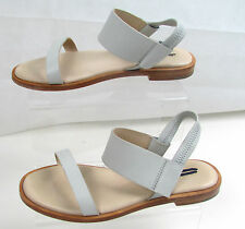 COS CREAM LEATHER SIZE 4 OR 37 SANDALS 100% AUTHENTIC RRP £79.00