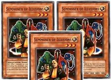 Summoner of Illusions - LON-063  x 3  Common - Unlimited Edition YuGiOh