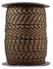 Jamaican - 550 Paracord Rope 7 strand Parachute Cord - 1000 Foot Spool