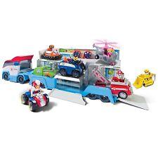 Paw Patrol Paw Patroller Pups Rescue Vehicle Transporter Kids Cartoon Gift Toy