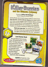 Killer Bunnies and the Ultimate Odyssey Land Starter Deck - Card Game New!