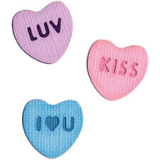 "Quickutz/Lifestyle Crafts KS-0307   ""CANDY HEARTS"" 1 2X2"" Die NO PACKAGING  NEW"