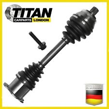VW PASSAT 2.0 TDi 16V & 4 MOTION AUTO/DSG DRIVE SHAFT & CV JOINT LEFT SIDE