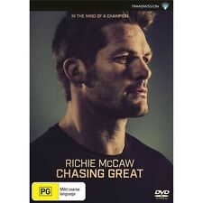 RICHIE McCAW:Chasing Great-Region 4-New AND Sealed
