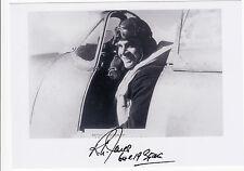 WWII WW2 BoB RAF Spitfire Battle of Britain pilot JONES cockpit signed photo