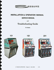 MANUALE COMPLETO  (manual) JUKEBOX SEEBURG 101 - 161 - 201 (juke box)