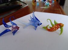 Vintage glass animals possibly  Murano collection