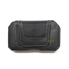 Horizontal Pouch Phone Case For Samsung Galaxy S3 S4 BB Z10 iPhone 5S 5C - Black