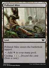 Polluted Mire X4 NM Commander 2015 MTG  Magic Cards Land Common