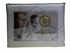 Crestell 2 Pack -Baby Cot Cotton Filled Standard Waterproof Mattress Protector