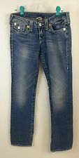 True Religion Jeans Size 30 Copper Color Buttons Disco Billy Big T Size 28