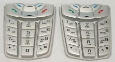 2x Nokia 2260 Cellphone Keypad Original Replacement Grey Silver OEM