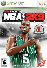 XBOX 360 2K Sports NBA 2K9 Video Game Multiplayer Basketball Tournament 2009 09