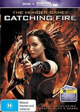 The Hunger Games - Catching Fire (DVD, 2014) JENNIFER LAWRENCE = PAL 4 =SEALED