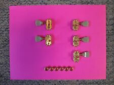 RARE GIBSON EPIPHONE LES PAUL GOLD TUNERS! '96 KOREA! 3x3 MACHINE HEADS, MOUNTS