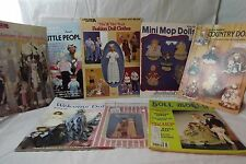 Large LOT of Booklets to make Dolls and Doll Clothes - Barbie - Ribbon Tassel +