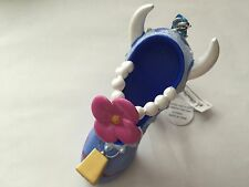 disney parks clarabelle cow resin christmas shoe ornament new with tag