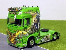 "WSI TRUCK MODELS,DAF NEW XF SUPER SPACE CAB 4x2 ""GREEN KILLER"",1:50"
