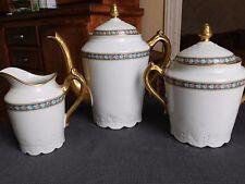 Balleroy & Cie décor Sigismond Maas Porcelaine de Limoges service à café