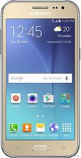 "Samsung Galaxy J2 SM-J200H/DS Gold (FACTORY UNLOCKED) Dual Sim 4.7"" 5MP"