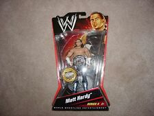 WWE Mattel Basic 4 Matt Hardy #1/1000 Limited Edition Figure, Elite, TNA, WWF