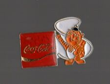 Pin's  coca cola / partenaire des jeux olympiques de Séoul 1988