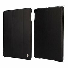 Jisoncase Black PU Leatherette Smart Cover Case for iPad Air 2, JS-ID6-01T10 USA
