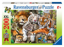 Big Cat Nap XXL 200 Piece Ravensburger Jigsaw Puzzle