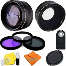 FISHEYE LENS + TELEPHOTO  LENS + FILTERS FOR Sony Cyber-shot DSC-RX10 III