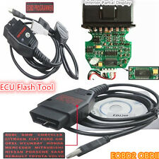 Car EOBD 2 OBDII OBD2 Galletto ECU Program Diagnostic Cable Remap Flash Tool
