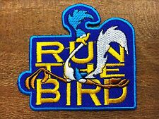 """New"" looney tunes ROADRUNNER Embroidered Iron On/Sew On Patch #03"