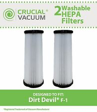 2 Dirt Devil F1 F-1 Washable Filter # 3-JC0280-000 2-JC0280-000 3JC0280000