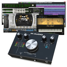 M-Audio M-Track 2X2 USB Audio Interface + Cubase LE & Air Software Plugins