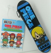 One Piece x Panson Works Mini Skateboard Sanji Strap figure keychain