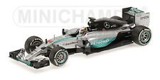 Minichamps 150044 Mercedes w06 Auto De F1 Lewis Hamilton World Champion 2015 1:43 rd