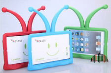 IPAD MINI Kids Children Cute Soft Rubber Silicone Case Cover Protector Stand