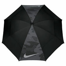"Nike Golf 62"" Windsheer Lite Umbrella N90451 Black/Dark Grey Camo New"