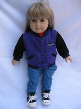 American Girl of Today #3 Doll Blonde Blue Eyes Blue Jeans Basics Outfit