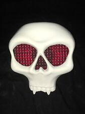 SKULL TAIL LIGHT COVER for HARLEY DAVIDSON CHOPPER BOBBER In Gel Coat