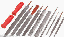 12-pc. File Set Multi-Purpose Files for Wood, Metal, and Polymers TEKTON 6665