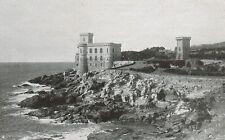 D1448 Livorno - Antignano - Castello del Boccale - Stampa antica - 1928 print
